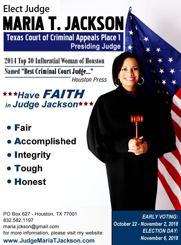Elect Judge Jackson